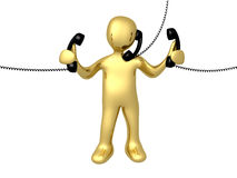 Phone Support Royalty Free Stock Images