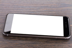 Phone on table Royalty Free Stock Photography