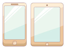 Phone and tablet Royalty Free Stock Images