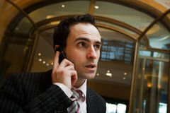 Phone talk Royalty Free Stock Images