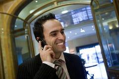 Phone talk Royalty Free Stock Photography