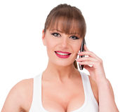 Phone Talk Stock Photos