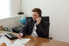 Phone Talk Royalty Free Stock Image