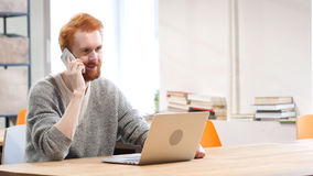 Phone Talk, Attending Call at Work. High quality Stock Photos
