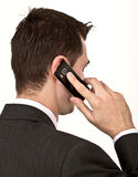Phone talk Stock Photography