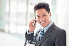 Phone talk Royalty Free Stock Photography