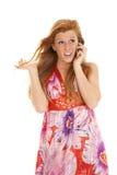 Phone talking Stock Photo
