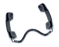 Phone Telephone Handset Receiver Stock Image