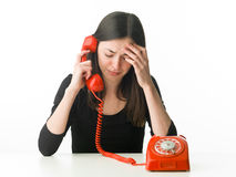 Phone therapy Royalty Free Stock Photos