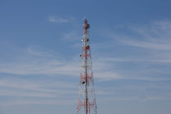 Phone towers Royalty Free Stock Photography