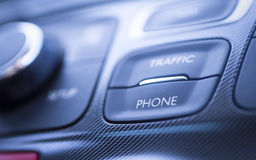 Phone Traffic Car Details Stock Images