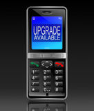 Phone upgrade concept. Royalty Free Stock Photo