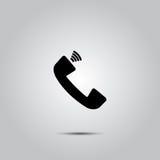 Phone vector icon Stock Photo
