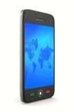 Phone on white background Stock Photo