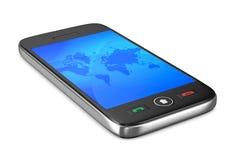 Phone on white background Royalty Free Stock Photos