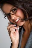 Phone Woman Stock Image
