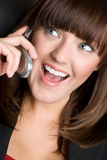 Phone Woman Stock Photos