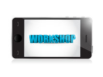 Phone. workshop illustration design royalty free illustration