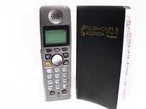 phonebook телефона Стоковые Изображения
