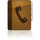 Phonebook icon royalty free illustration