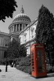 phonebox红色 免版税图库摄影