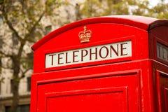 Phonebox Лондона Стоковая Фотография