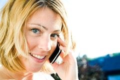 Phonecall Royalty Free Stock Photo
