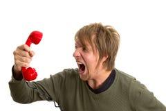 Phonecall Стоковая Фотография RF