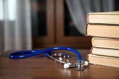 Phonendoscope, книги Стоковые Фотографии RF
