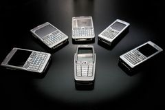 Phones Royalty Free Stock Photography