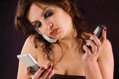 Phones Royalty Free Stock Photo