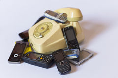 Phones Royalty Free Stock Images