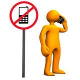 Phones Not Allowed Stock Photos