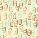 Phones seamless pattern Royalty Free Stock Image