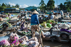 Phong Dien Floating Market Royalty Free Stock Image
