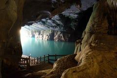 Phong Nha, σπηλιά κτυπήματος της KE, παγκόσμια κληρονομιά, Βιετνάμ στοκ φωτογραφίες με δικαίωμα ελεύθερης χρήσης