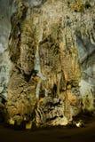 Phong Nha Cave (Paradise Cave) in Phong Nha-Ke Bang National Park, Vietnam royalty free stock photo
