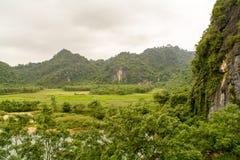 Phong Nha, caverne de coup du KE, stupéfier, caverne merveilleuse à la BO Trach, Quang Binh, Vietnam image stock
