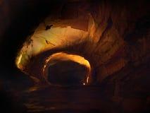 Phong Nha grotta (den Phong Nha-Ke smällen), Vietnam. UNESCOvärld Herita Arkivfoto