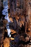 Phong Nha, Phong Nha jama, zadziwiać, cudowny cavern przy Bo Trach, Quang Binh, Wietnam, jest światowym dziedzictwem Wietnam zdjęcia royalty free