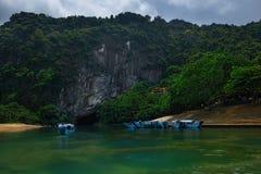 Phong Nha Ke轰隆国家公园  库存图片