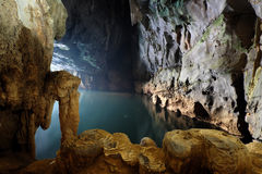 Phong Nha, Ke Łomota jamę, światowe dziedzictwo, Wietnam Obrazy Royalty Free