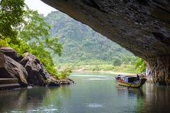 Phong Nha, Ke Bang cave, an amazing, wonderful cavern at Bo Trach, Quang Binh, Vietnam stock images