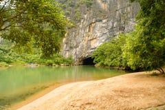 Phong Nha, Ke Bang cave, an amazing, wonderful cavern at Bo Trach, Quang Binh, Vietnam stock photo