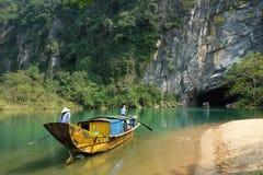Phong Nha, KE golpeia a caverna, Vietname, Vietname fotografia de stock