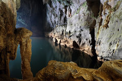 Phong Nha, KE schlagen Höhle, Welterbe, Vietnam stockbild