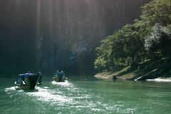 Phong Nha - le KE frappent le parc international, Vietnam Image stock