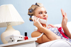 Phoning Stock Images