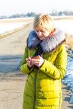 phoning fotografia de stock