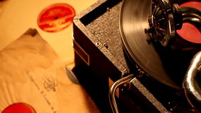 Phonograph Stock Photo